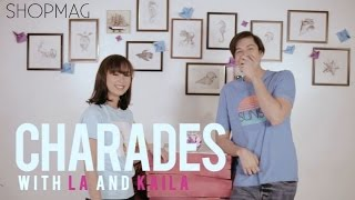 Charades Challenge with LA Aguinaldo and Kaila Estrada