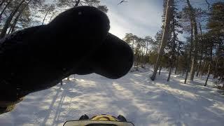 7. Белое море. 2018 февраль. ski doo skandic swt 600 ace