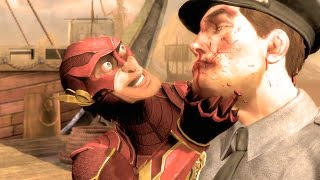 Injustice Gods Among Us The Flash Performs All Character Intros Ultimate Edition