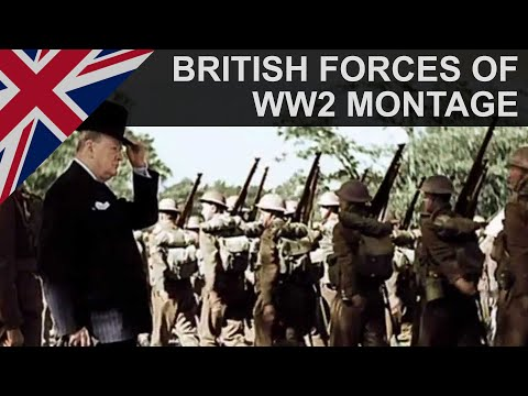 British Armed Forces   We Shall Never Surrender   WW2 Tribute   HD