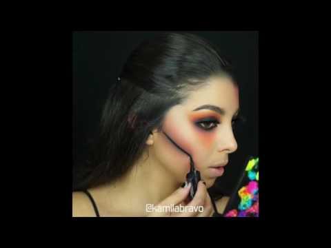 Maquillage halloween trop beau 2016 , lequels vous préférez?❤  Ps:abonnez-vous.