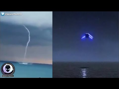 ufo o droni? cosa sono quegli strani oggetti vicino ai tornado?