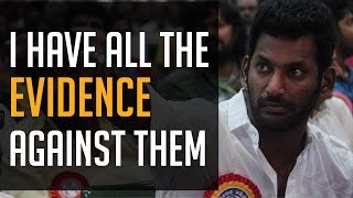 "Vishal – ""I have all the evidence against them!"" – BW Kollywood News 03/10/2015 Tamil Cinema Online"