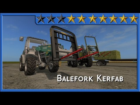 Spike Kerfab With BaleAttacher and All Loader v1.0