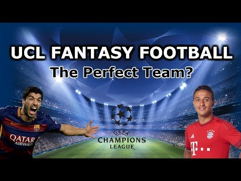 Uefa Champions League |  THE BEST TEAM? | Fantasy Football Group Stages UCL