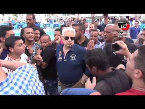 جماهير الزمالك تهتف لـ«مشاغب» أمام مرتضى منصور