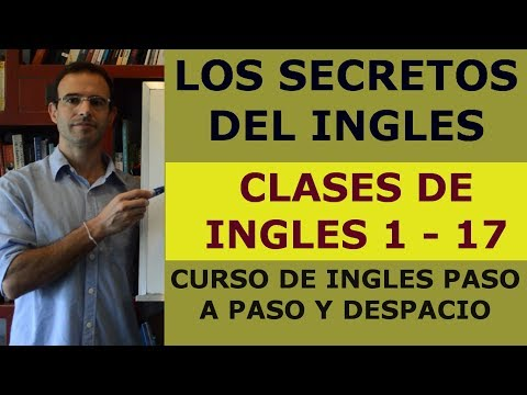 Curso de ingles GRATIS - Clases de ingles 1-17 (ADDING ENGLISH SUBTITLES)