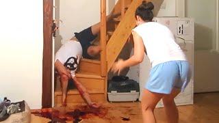 Chyba każdej by się nogi ugięły! Mocno przesadzony żart ze śmiercią chłopaka!