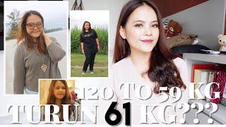 Video TURUN 61 KG?!?! 120KG TO 59KG DIET STORY - RELITA LESTARIA (BAHASA) MP3, 3GP, MP4, WEBM, AVI, FLV April 2019