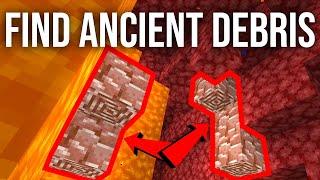 The BEST Way to Find Ancient Debris in Minecraft 1.16!