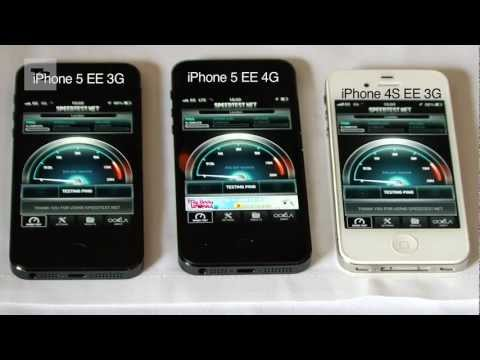 4G - iPhone 5 4G UK EE Speed Test. EE is bringing 4G to the UK and one of the phones to bag the network is Apple's iPhone 5. Here we test the iPhone 5 4G vs iPhon...