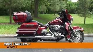 9. Used 2009 Harley Davidson Ultra Classic Electra Glide Motorcycles for sale - Gainesville, FL