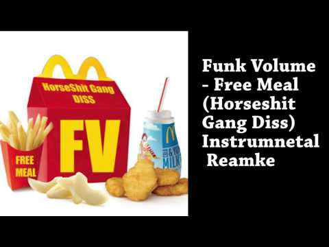 Funk Volume - Free Meal (Horseshit Gang Diss) Instrumental Remake