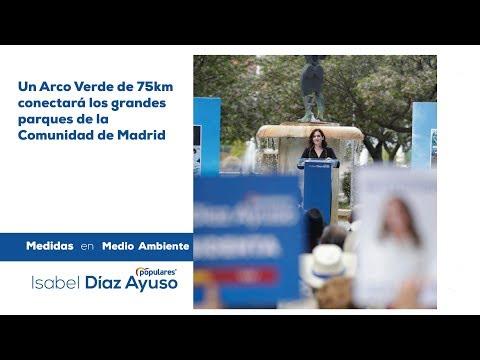 Isabel Díaz Ayuso - Plan Sur y Medio Ambiente