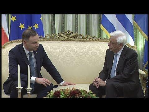 Συνάντηση Πρ.Παυλόπουλου με τον Πολωνό ομόλογό του Α.Ντούντα