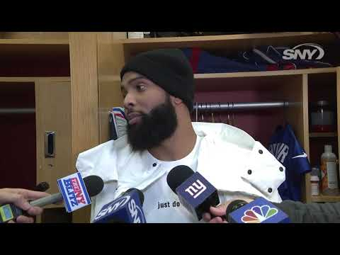 Video: Odell Beckham Jr. on Giants: 'I still see us going 8-8'