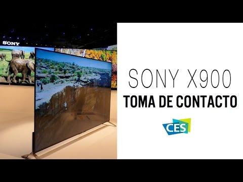 Sony X900, primeras impresiones del nuevo televisor de Sony CES 2015