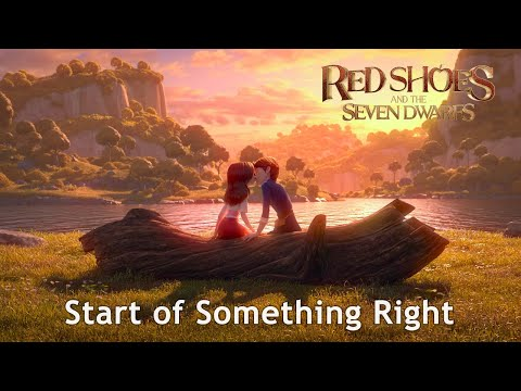 🎵 RED SHOES AND THE SEVEN DWARFS OST(2019) l Start of Something Right - Lyric Video [Eng/HD]
