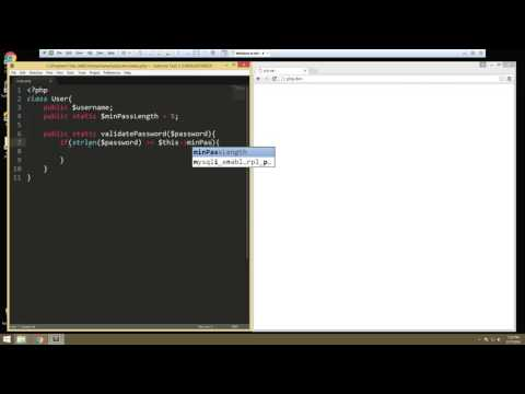 Learn about Advanced OOP in PHP - Part 2