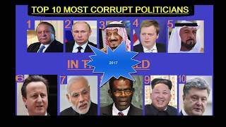 Top 10 Most Corrupt Politicians In The World 2017 By searching on google showing following results on a site. Top 10 Most...