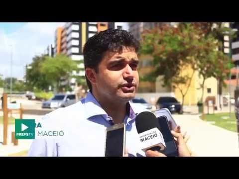 Rui Palmeira entrega trecho revitalizado do Vera Arruda