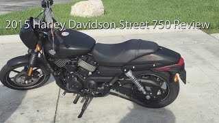 5. 2015 Harley Davidson Street 750 Motorcycle Review