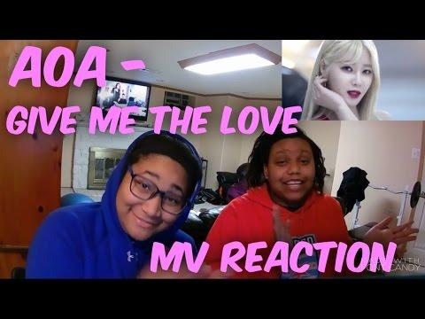 AOA Give Me The Love「愛をちょうだい feat. TAKANORI NISHIKAWA (T.M.Revolution) (Short Version) MV Reaction