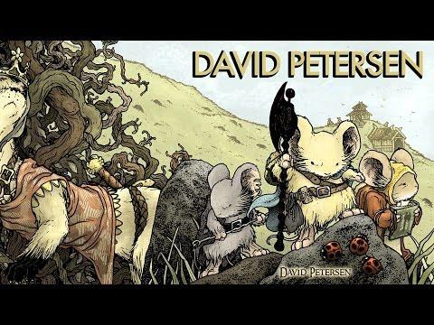 David Petersen Discusses MOUSE GUARD (Video)