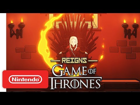 Reigns: Game of Thrones - Launch Trailer - Nintendo Switch - Thời lượng: 63 giây.