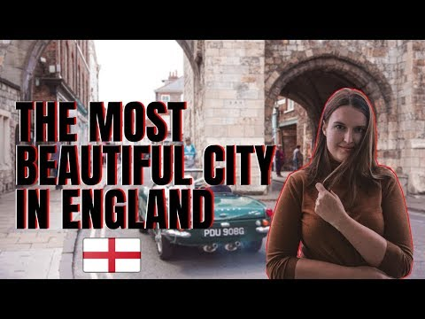 YORK - THE MOST BEAUTIFUL CITY IN ENGLAND -