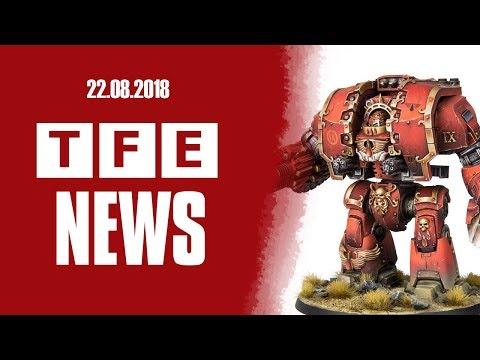 TFE NEWS - 22.08.2018 [ Гладим Волков и кулстори с ETC ]