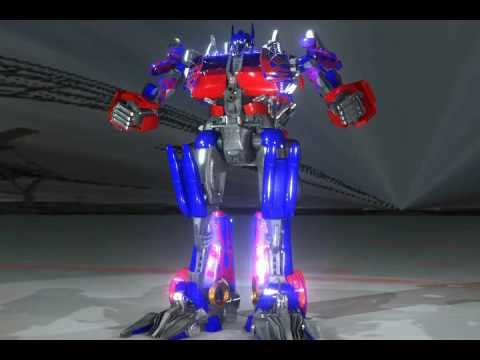 transforms - a 3d model of optimus prime from the movie transforms.