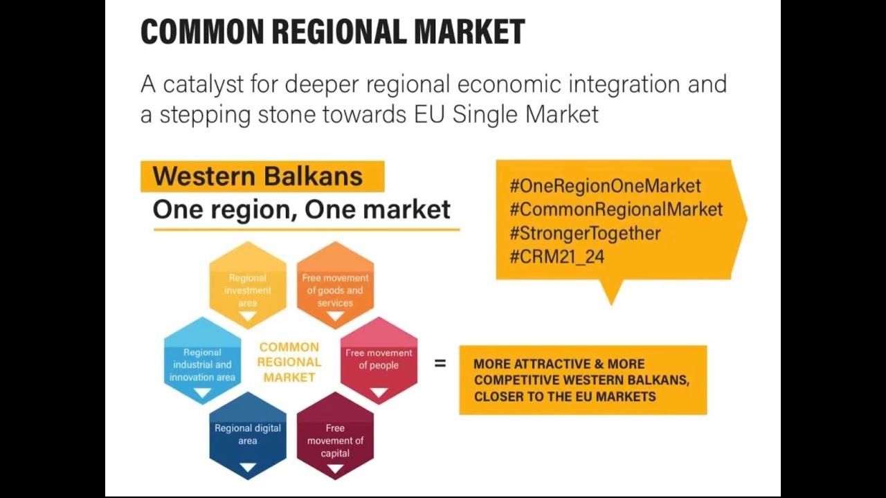 Common Regional Market - One Region, One Market
