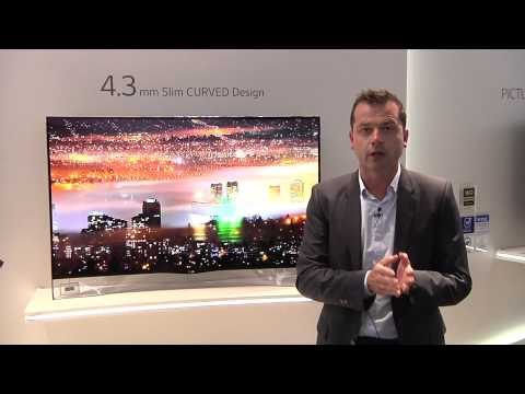 IFA 2013 : LG 55EA980V, OLED Curve