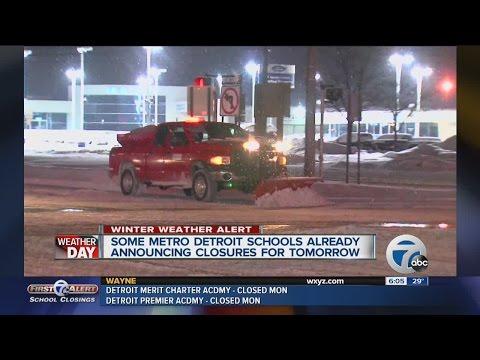 Schools already closing