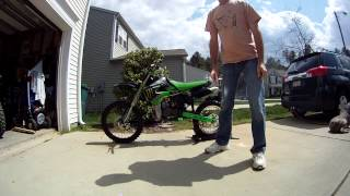 10. 2009 KX100 Big Wheel - Selling my