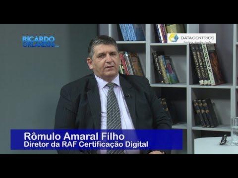 Ricardo Orlandini entrevista o empresário Rômulo Amaral Filho; o coach neurofinanceiro Rodrigo Miranda; e Luiz Carlos Zancanella Junior