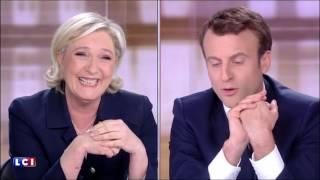 Video Débat - Macron se moque de Marine Le Pen et de sa poudre de perlimpinpin MP3, 3GP, MP4, WEBM, AVI, FLV Mei 2017
