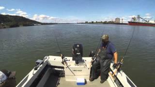 Sturgeon Fishing on the Willamette Time Lapse