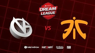 Vici Gaming vs Fnatic, DreamLeague Season 11 Major, bo3, game 1 [Santa & Adekvat]