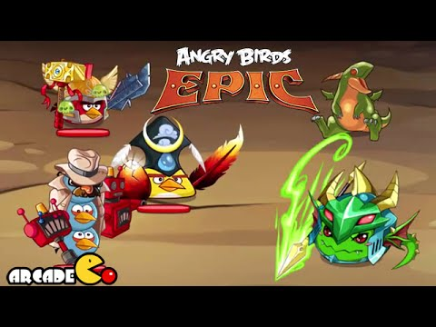 birds - NEW Update Angry Birds Epic Vs Puzzle And Dragon Angry Birds Epic By Rovio Entertainment Please Subscribe for more videos ▻ http://goo.gl/6JFyIl Free Online Games, Gameplay and Walkthrough!