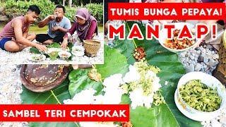 Video Nikmatnya Tumis Bunga Pepaya dan Sambel Teri Cempokak Di Pinggir Sungai! MP3, 3GP, MP4, WEBM, AVI, FLV Februari 2019