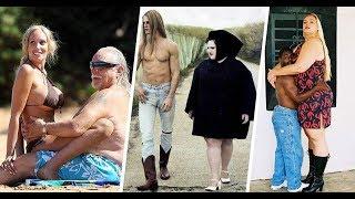 Las 8 parejas más extrañas y disparejas que te puedes encontrar
