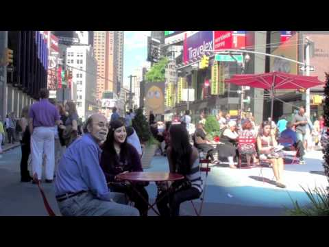 Farting in Time Square