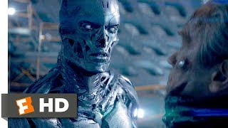 Terminator Genisys  2015    John Connor Vs  The Terminator Scene  9 10    Movieclips