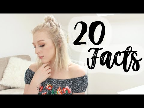 20 FACTS ABOUT ME | EMILY ROSE