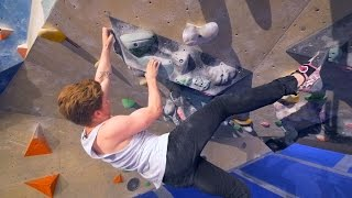Nikken And Daniel Are Battling A V9 This Bouldering Session! by Eric Karlsson Bouldering