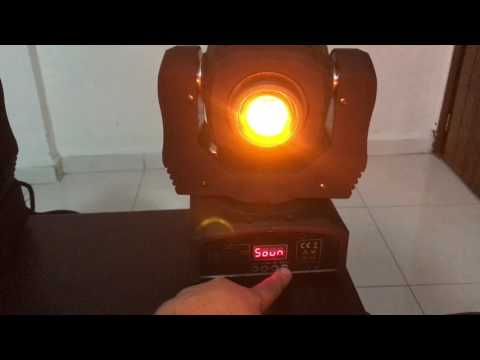 Funciones Moving Head 30W Y 60W