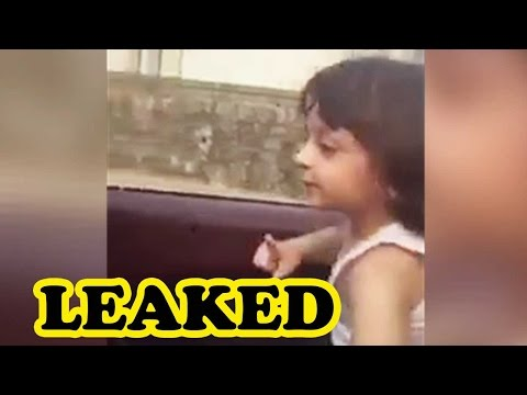 LEAKED: AbRam Dances While Shah Rukh Khan Drives