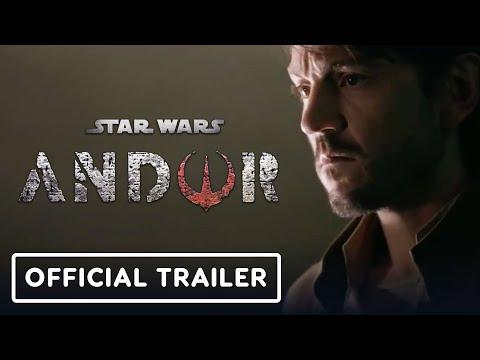 Star Wars Andor - Official First Look Trailer 2022 Diego Luna
